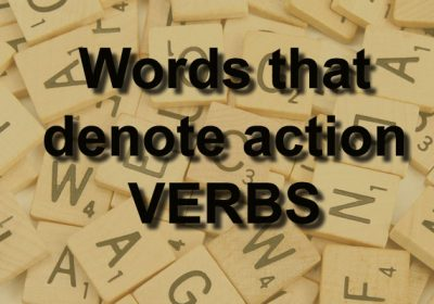 educaretech verbs words that denote action